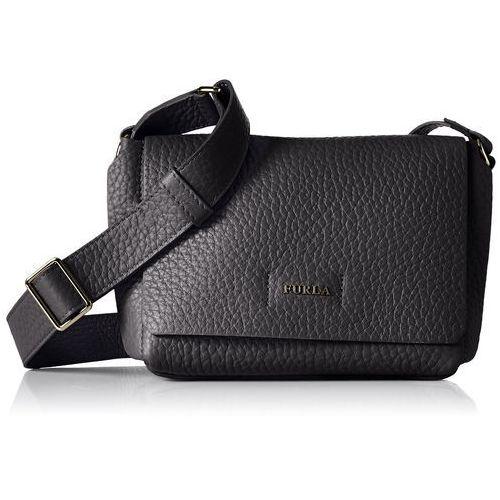 Furla damski capriccio mini cross body torba na ramię, 10 x 15 x 18 cm - czarny -