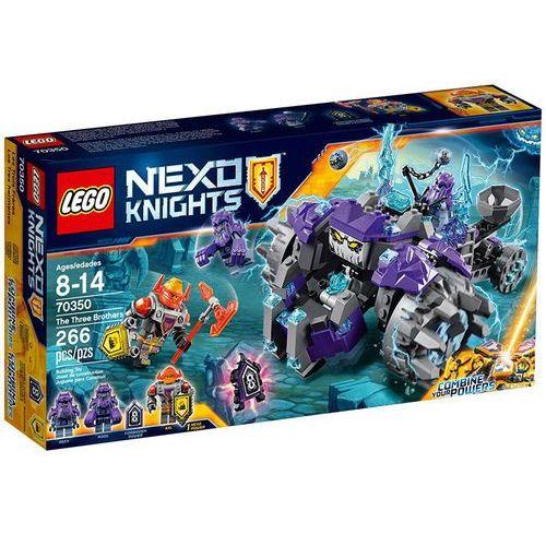 LEGO NEXO KNIGHTS, Trzej bracia, 70350 wyprzedaż