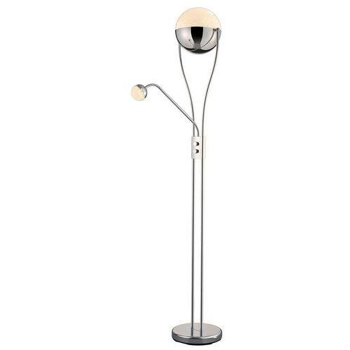 Z lampką do czytania – lampa stojąca LED Chris