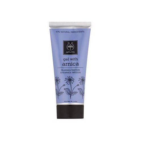 Apivita Herbal Arnica żel na stłuczenia, urazy i obrzęki (Arnica Tincture 5%, Arnica Infusion 84%) 40 ml (5201279013790)