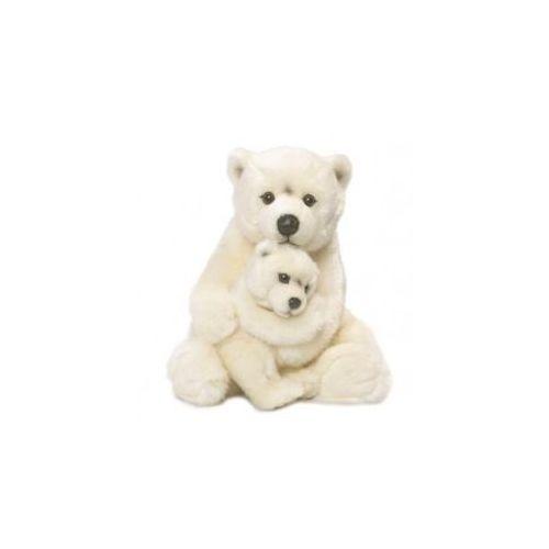 Wwf Miś polarny mama z dzieckiem 28 cm