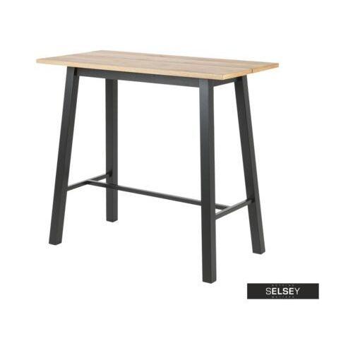 SELSEY Stół barowy Pistacia 117x58 cm