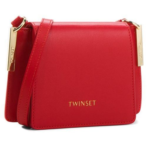 Torebka TWINSET - Tracolla Piccola AA8PGB Papavero 00456, kolor czerwony