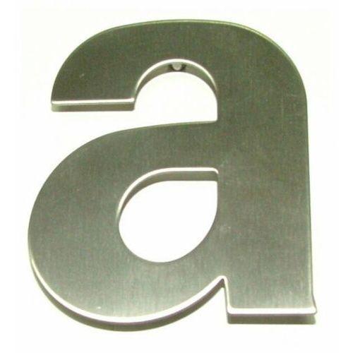"""Litera """"a"""" na dom ze stali nierdzewnej 115 mm"""