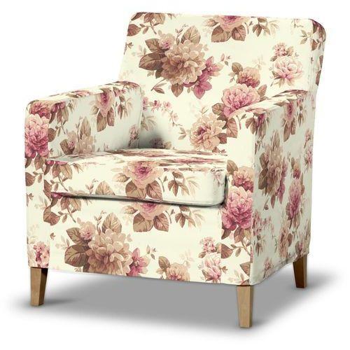 pokrowiec na fotel karlstad 141-06, fotel karlstad marki Dekoria