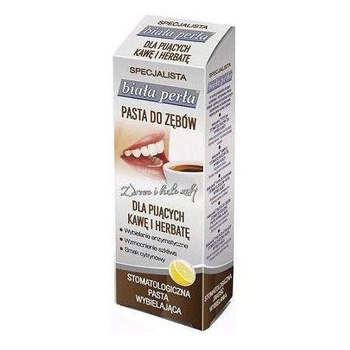 BIAŁA PERŁA, Pasta do zębów dla pijących kawę i herbatę, 75ml