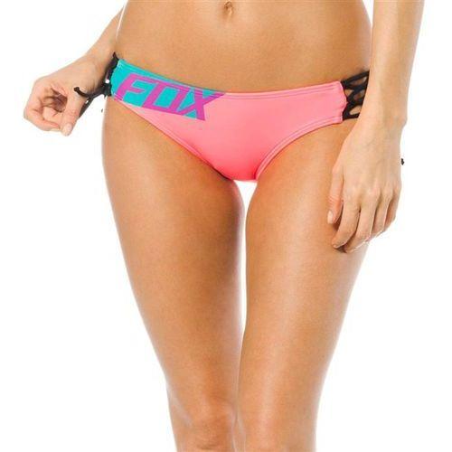 Strój kąpielowy - firing lace up side tie btm berry punch (307) rozmiar: xs marki Fox