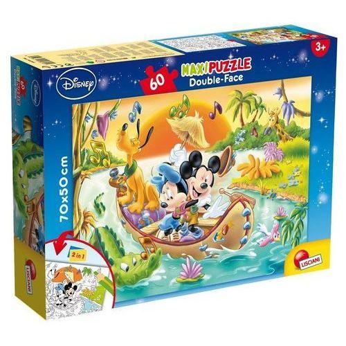 Lisciani Puzzle dwustronne maxi 60 myszka mickey (8008324048205)