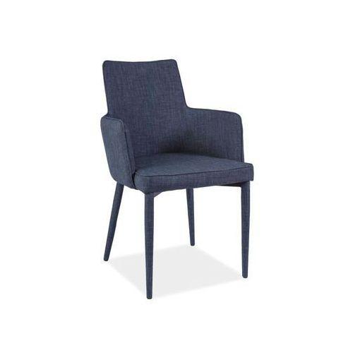 Nowoczesne krzesło SEMIR grafit, kolor szary