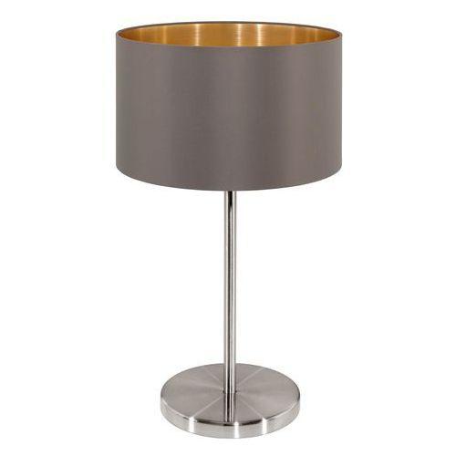 Eglo 31631 - Lampa stołowa MASERLO 1xE27/60W/230V