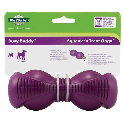 Zabawka z dźwiękiem dla psa - Busy Buddy Squeak'n Treat Ooga