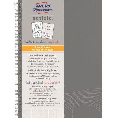 Kołozeszyt notizio basic 7011 a5/80k. kratka marki Avery zweckform