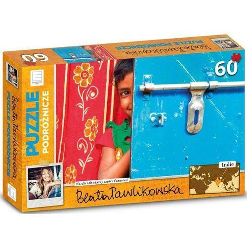 Indie Beata Pawlikowska Puzzle podróżnicze 60