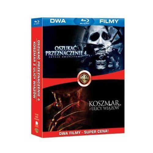 Galapagos films / warner bros. home video Bd 2 pack koszmar z ulicy wiązów/oszukać przeznaczenie 4 (2bd)