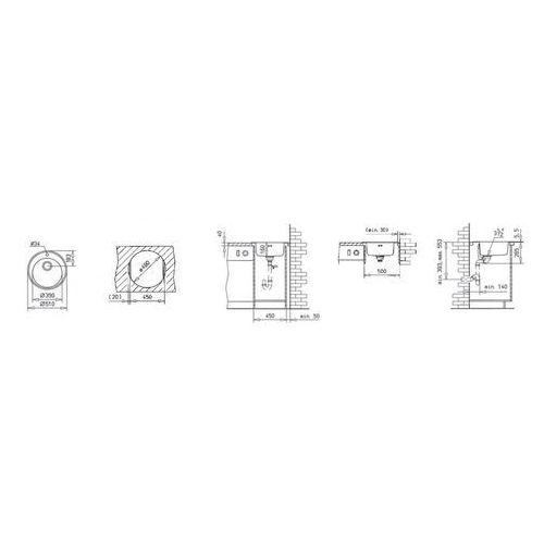Zlewozmywak Teka Basico 510 1C MTX, 10124027