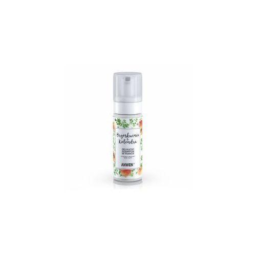 Anwen , szampon w piance brzoskwinia i kolendra do suchej i wrażliwej skóry głowy, 170ml