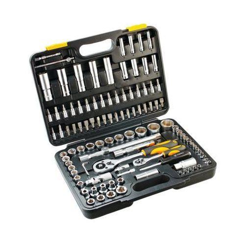Zestaw kluczy nasadowych 38d644 1/2 i 1/4 cala (108 elementów) marki Topex