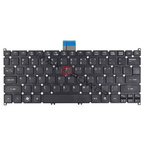 Klawiatura v128230bk1 do laptopa acer marki Max4power