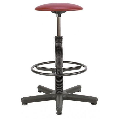 Krzesło specjalistyczne goliat rb-bl ts02 - obrotowe z regulowanym podnóżkiem marki Nowy styl