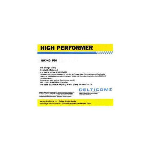 High Performer 5W-40 PDI Diesel 1 Litr Puszka