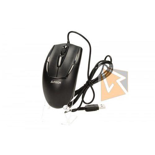 A4 tech Mysz przewodowa optyczna v-track op-540nu 1000dpi czarny- wysyłamy do 18:30