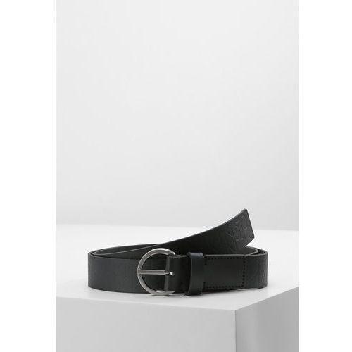 Calvin Klein MISH LOGO BELT Pasek black, K60K602239