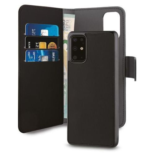 PURO Wallet Detachable etui 2w1 na Huawei P40 Pro (czarne) (8033830288746)