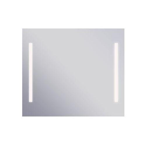 Lustro łazienkowe z oświetleniem wbudowanym campo ii 73 x 63 marki Dubiel vitrum