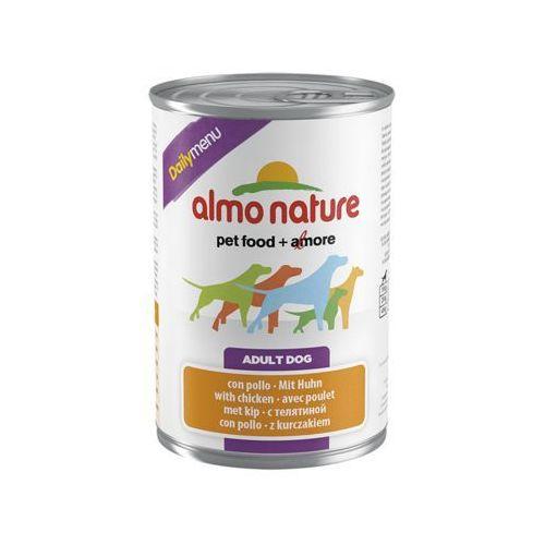 daily menu dog kurczak - puszka 400g marki Almo nature