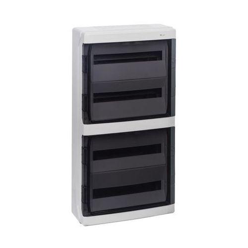 GALANT PLUS RN 4/72 drzwi transparentne (N+PE) IP65 1609-01, 1609-01