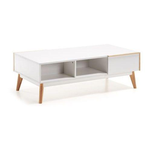:: stolik kawowy meety 120 x 60 cm biały marki Laforma