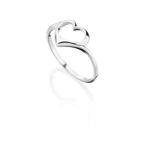 Pierścionek serce srebrny marki La tienne