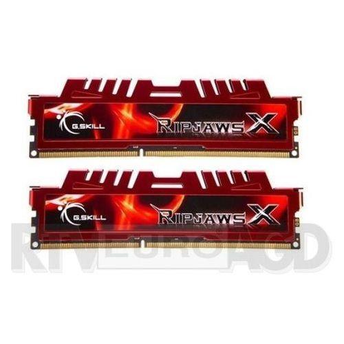 ripjawsx ddr3 2x4gb 1600mhz cl9 (czerwony) - produkt w magazynie - szybka wysyłka! marki G.skill