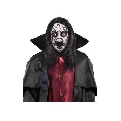 Maska Zombie z kapturem i włosami - 1 szt.