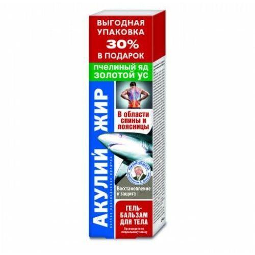 OKAZJA - Żel tłuszcz rekina z jadem pszczelim i złotym wąsem Walentina Dikula 125ml, KF157