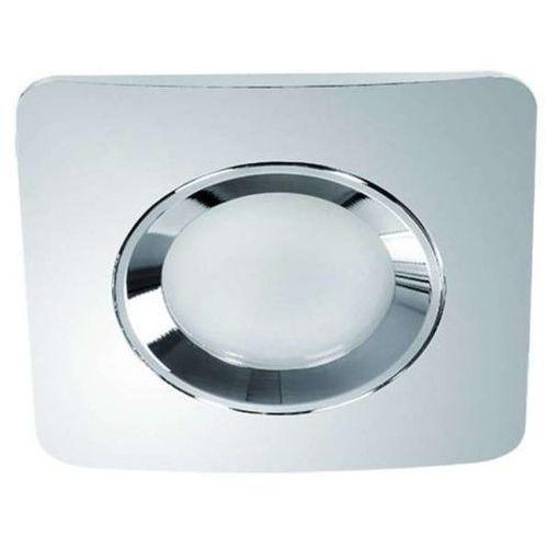 Orlicki design Oczko lampa sufitowa bello ip44 metalowa oprawa wpust kwadratowy ezio chrom