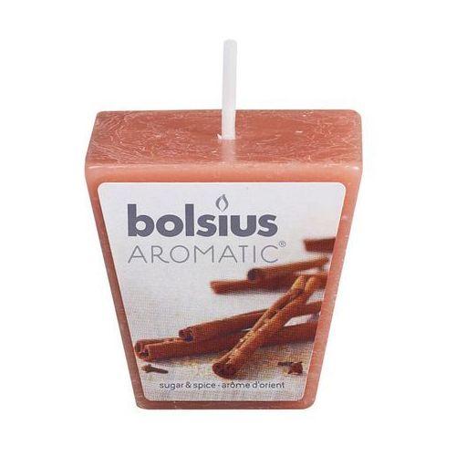 Świeca zapachowa aromatic zapach: cynamonowy marki Bolsius