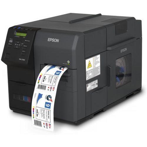 Drukarka kolorowych etykiet  colorworks c7500 marki Epson