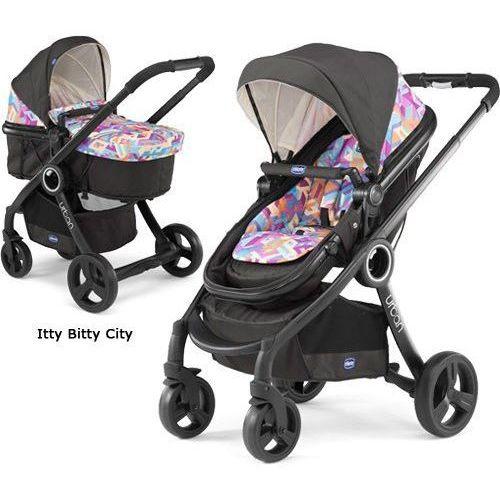 Wózek Chicco Urban 4w1 - Itty Bitty City