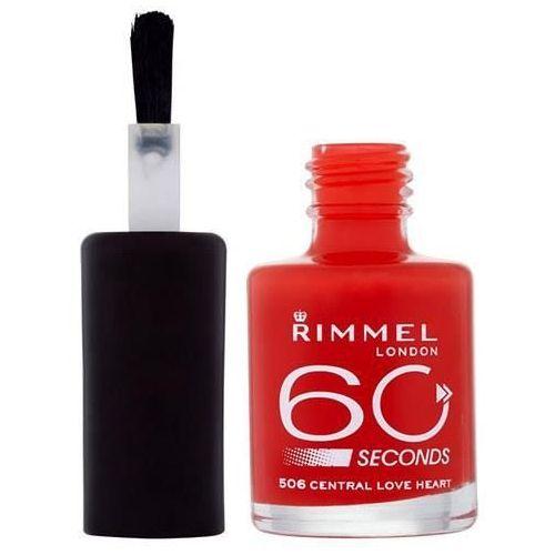 Rimmel London 60 Seconds Nail Polish 8ml W Lakier do paznokci 230 Portobello Pink (3661163955858)