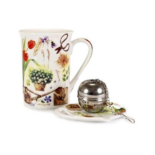 Banquet garden 3-częściowy zestaw do herbaty,