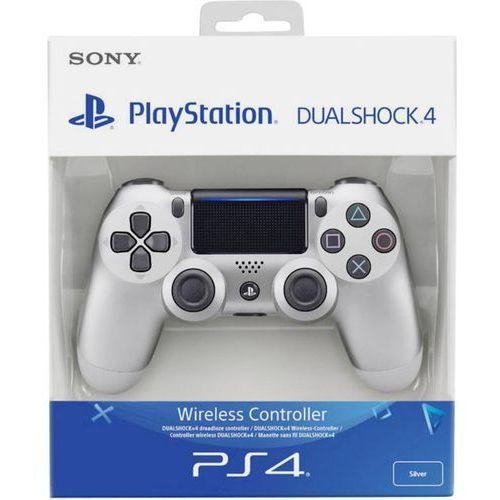 Sony Kontroler bezprzewodowy  ps4 dualshock 4 v2 srebrny