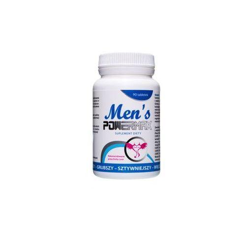 Men's powermax mocna erekcja, dłuższy stosunek, większy penis 60tab. marki Boss of toys