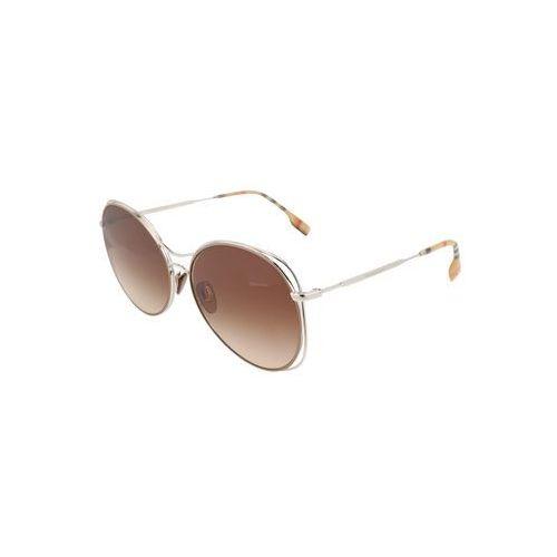 BURBERRY Okulary przeciwsłoneczne srebrny, kolor żółty