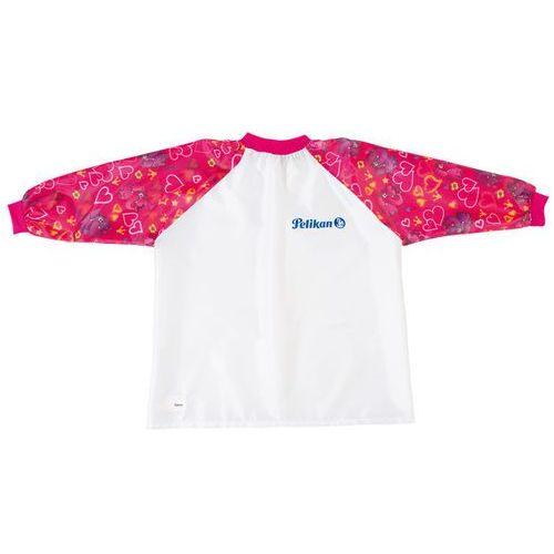 Pelikan Fartuszek do prac plastycznych, różowy, - różowy