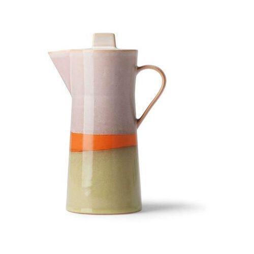 HKliving Ceramiczny dzbanek do kawy 70's ACE6912 (8718921034852)
