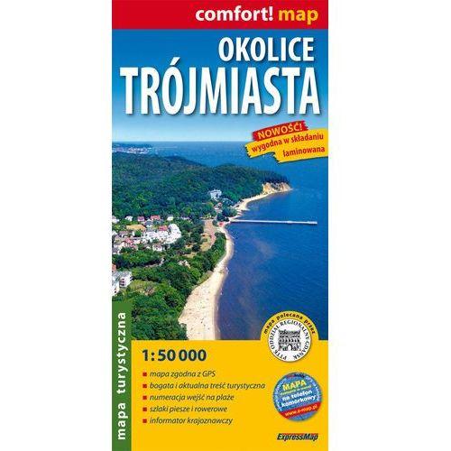 Okolice Trójmiasta mapa turystyczna 1:50 000, ExpressMap