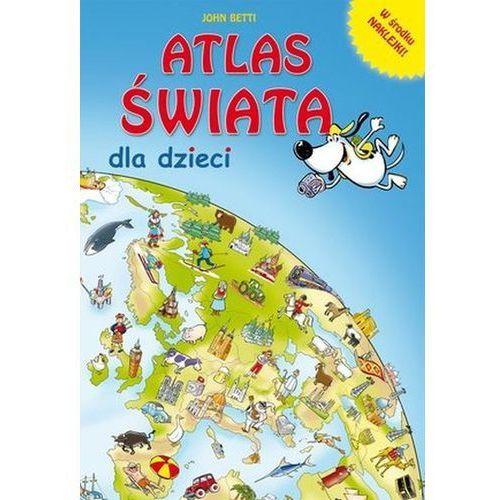 Atlas świata dla dzieci (9788327451576)