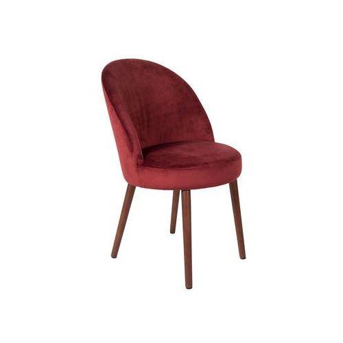 Dutchbone Krzesło Barbara czerwone 1100340, 1100340