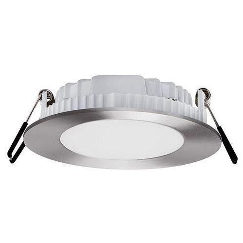 Ideus Oczko lampa sufitowa hl688l 02132 podtynkowa oprawa metalowa led 12w okrągły wpust minimalistyczny satyna